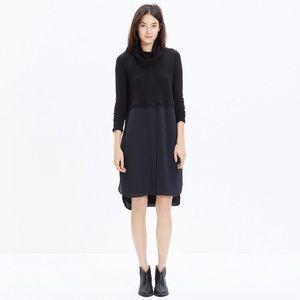 Madewell medium Timelapse Turtleneck Dress Black